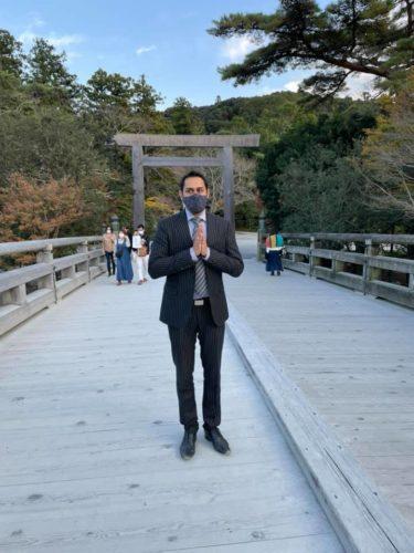 今年も伊勢神宮に特別参拝してきました。Visit to Ise Shrine !