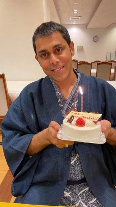 Birthdayのお祝いメッセージありがとうございます! Thank you everyone !